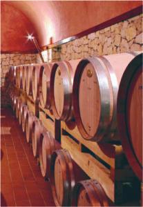 BU Barrels in Cellar 2