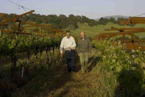 HdV Larry & Aubert at Hyde Vineyards - Photo Credit - Andy Katz Small photo