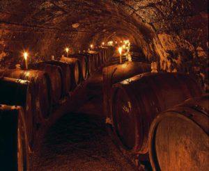 Candlelit cellars