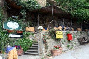 Castello di Volpaia's restaurant, Osteria Volpaia con Cucina