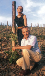 Giovannella and Carlo Stianti Mascheroni in late 1980s