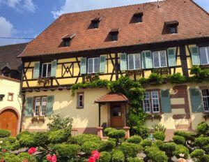 Pierre Sparr Winery in Beblenheim - Front
