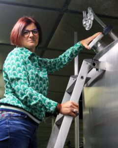 Winemaker Corinne Perez